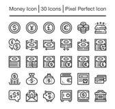 Money icon. Money line icon,editable stroke Stock Photo