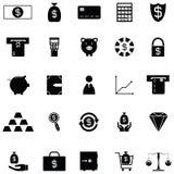Money icon set. The money of icon set Royalty Free Stock Photos
