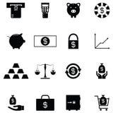 Money icon set. The money of icon set Royalty Free Stock Image