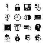 Money icon set. Vector Stock Photography
