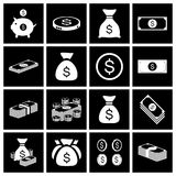 Money icon set. Vector Stock Image