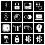 Money icon set. Vector Stock Photos