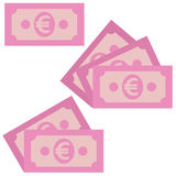 Money icon. Simple, flat style. Graphic  illustration. Royalty Free Stock Images