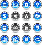 MOney icons. Stock Images
