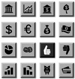 MOney icons. MOney icon set. Vector illustration Stock Image