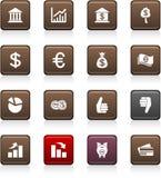 Money icons. Stock Photos