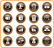 Money icons. Money raster iconset. Vector version is available in my portfolio Stock Photography