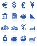 Money icons. Money raster iconset. Vector version is available in my portfolio Stock Photos
