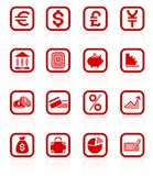 Money icons Stock Image
