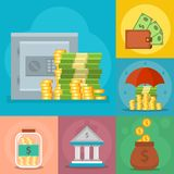 Money vector commercial group payment investment bag graphic finance safepay earning cash wallet. Stock Photo