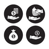 Money Icons stock illustration
