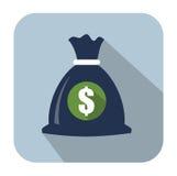 Money icons Stock Image