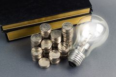 Money idea Royalty Free Stock Photos