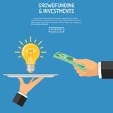 Money for idea Stock Image