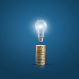 Money and ideas. Background design Royalty Free Stock Photos