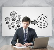 Money ideas Stock Photo