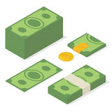 Money.  illustration Stock Photos
