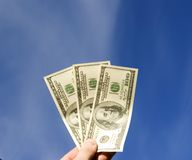 Free Money In Hand Royalty Free Stock Photo - 4799045