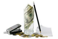Money In The Business Stock Photography