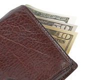 Money In Wallet Royalty Free Stock Image
