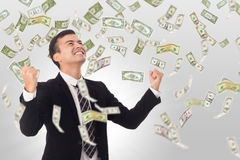 Money increase Royalty Free Stock Photo