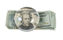 Money Inflated Royalty Free Stock Photos