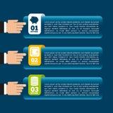 Money infographics Stock Image
