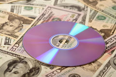 Money and information Royalty Free Stock Images
