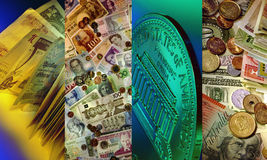 Money - International Currency Royalty Free Stock Photos