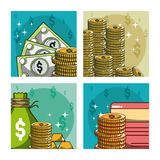 Money and investment Stock Photo