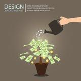 Money investment Stock Photo