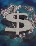 Money Island stock illustration