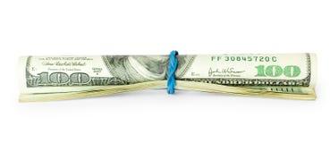 Money isolated on white Stock Image