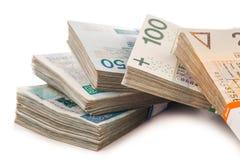 Money  isolated on white Stock Photography