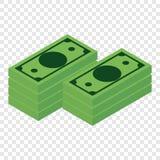 Money isometric 3d icon Stock Image