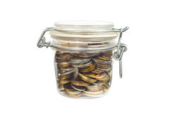 Money in a Jar Royalty Free Stock Photography