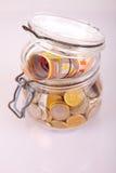 Money jar Royalty Free Stock Photos