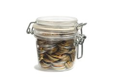 Money in a Jar Stock Images