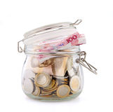 Money jar Stock Photography