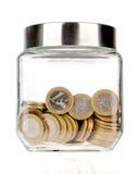 Money jar moneybox isolated Royalty Free Stock Photography