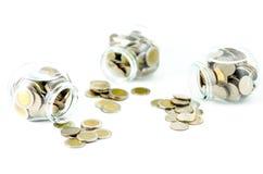 Free Money Jar With Thai Coin Royalty Free Stock Photos - 62688838