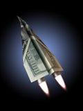 Money jet Stock Image