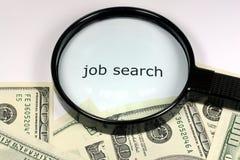 Money and job Stock Photos