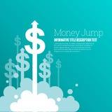 Money Jump Royalty Free Stock Image
