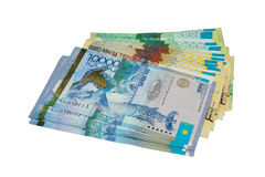 Money of Kazakhstan Stock Images