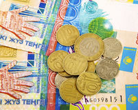 Money of Kazakhstan Royalty Free Stock Image
