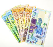 Money of Kazakhstan Royalty Free Stock Images