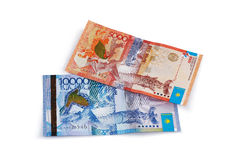 Money Kazakhstan. Stock Photos