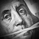 Money keeps silent Royalty Free Stock Photos