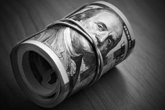 Money keeps silent Royalty Free Stock Photography
